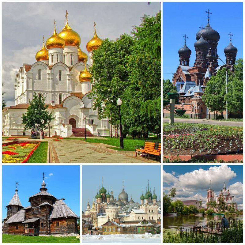 «Золотое кольцо России» - кладовая древнейших достопримечательностей