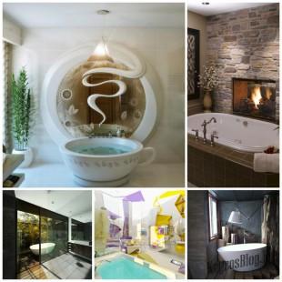 Как добавить оригинальность в дизайн ванной комнаты