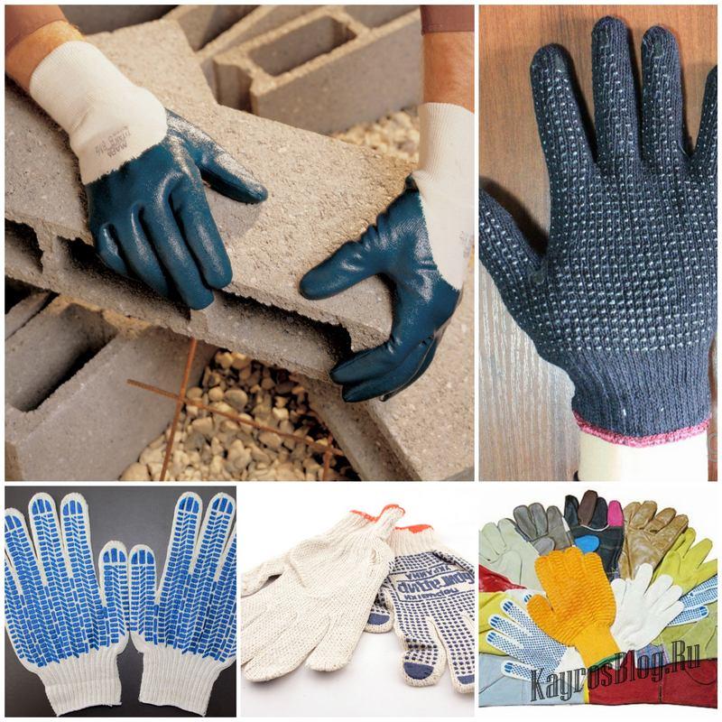 Какие рабочие перчатки из хб выбрать по классу вязки и количеству нитей