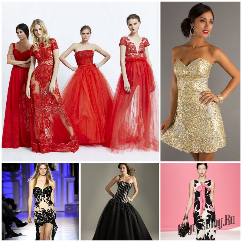 Модные тенденции платьев для выпускного бала