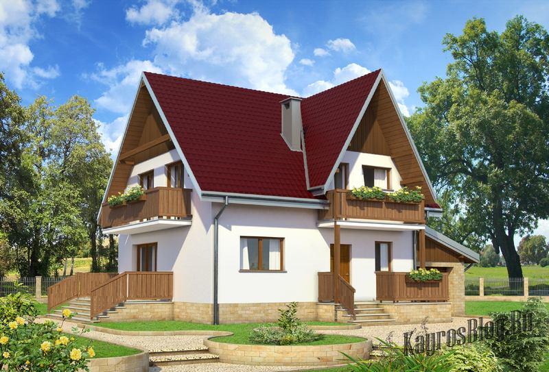 идеальный дом для семьи из 4 человек