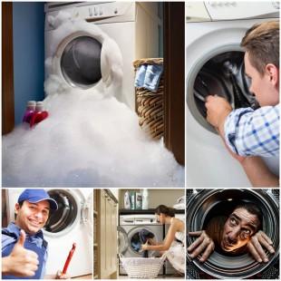 Поломки стиральных машин: как их избежать