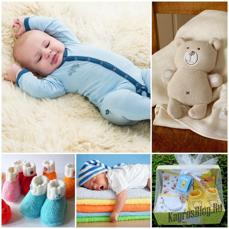 Варианты подарков для новорожденных