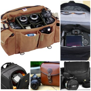 Какую лучше выбрать сумку для фотоаппарата?