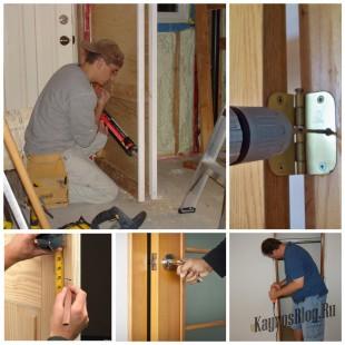 Установить межкомнатную дверь своими руками не так сложно, как вам кажется