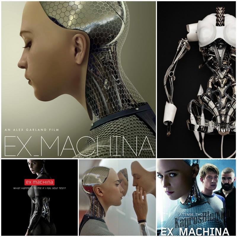 Ex Machina - фильм писателя Алекса Гарленда