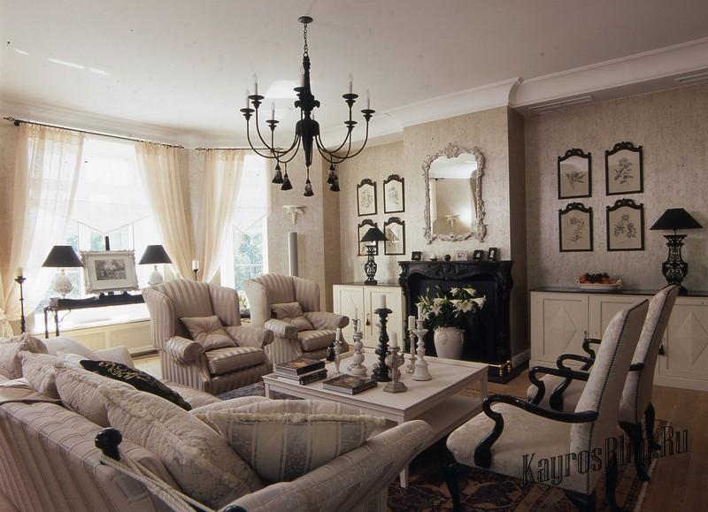 Идеи неоклассицизма в интерьере жилого дома 2