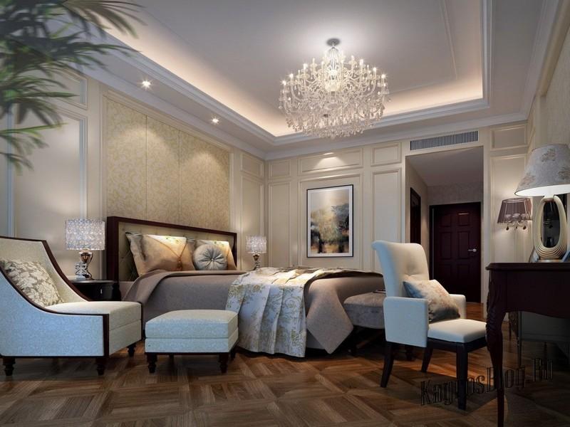 Идеи неоклассицизма в интерьере жилого дома 6