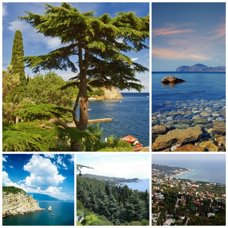 Крымское побережье - особенности южного и западного побережья