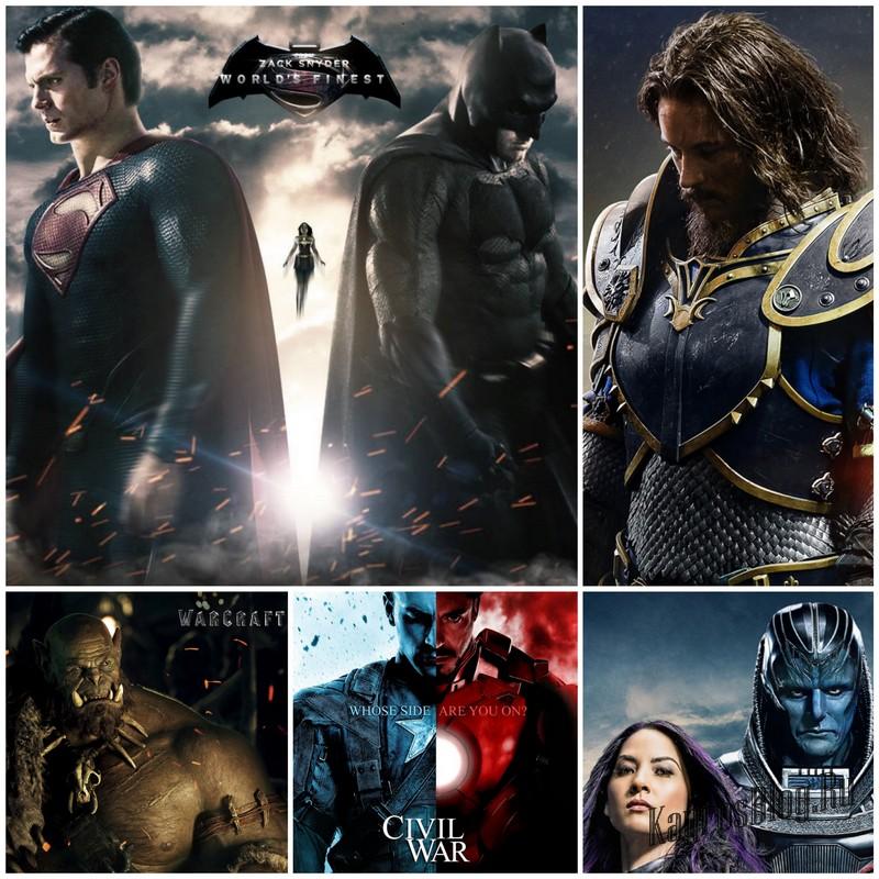 Самые ожидаемые фильмы про супергероев 2016 года
