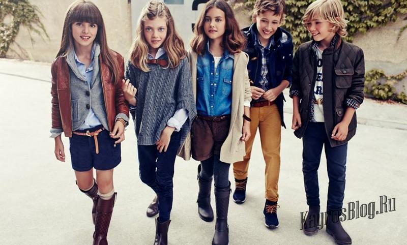 Модные подростки девочек