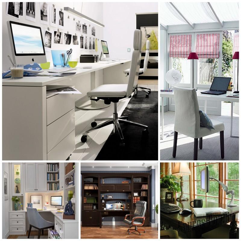 Домашний кабинет: варианты оформления