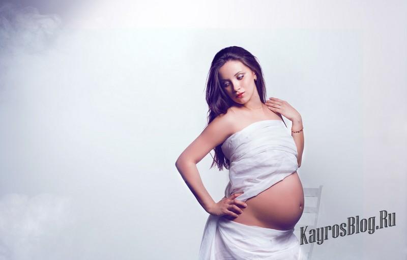 Крутые фотосессии для беременных 91