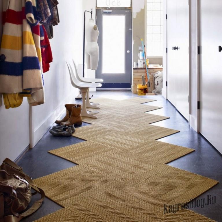 Ковровые дорожки в коридор фото