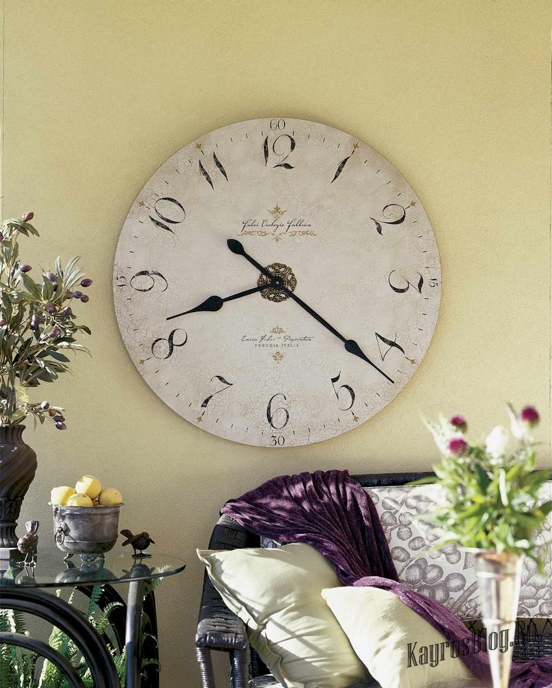 Оригинальные часы на стену фото