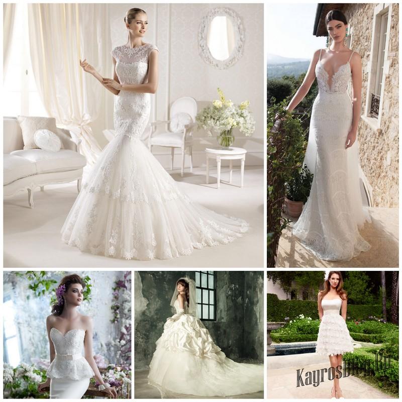 Какое свадебное платье надеть на свадьбу в 2016. Модные тенденции