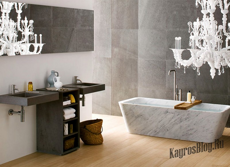 ванные комнаты 2016 новые тренды фото