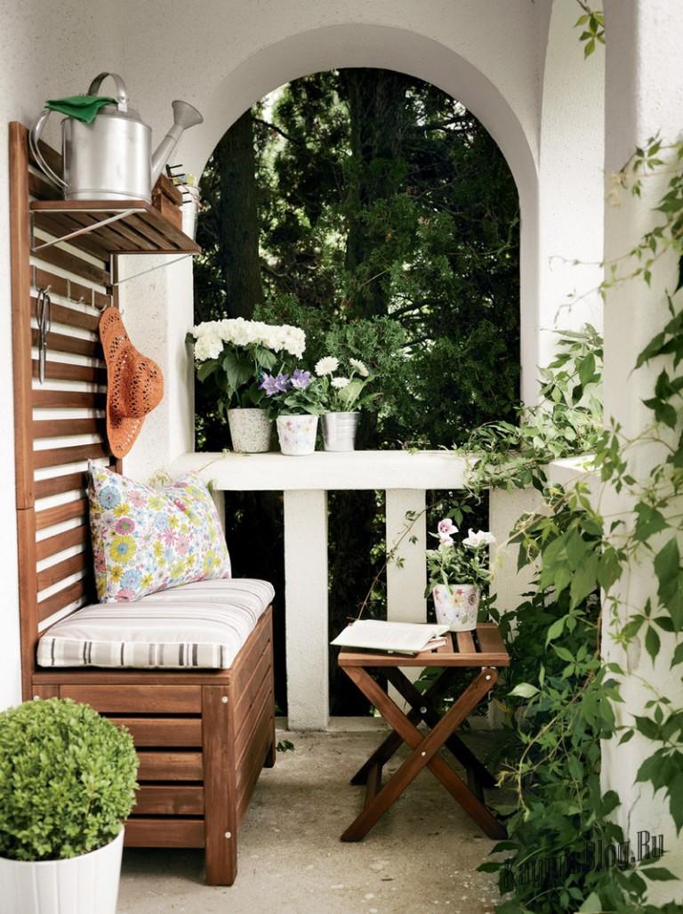 Идеи оформления балкона, украшение балкона, интерьер балкона.