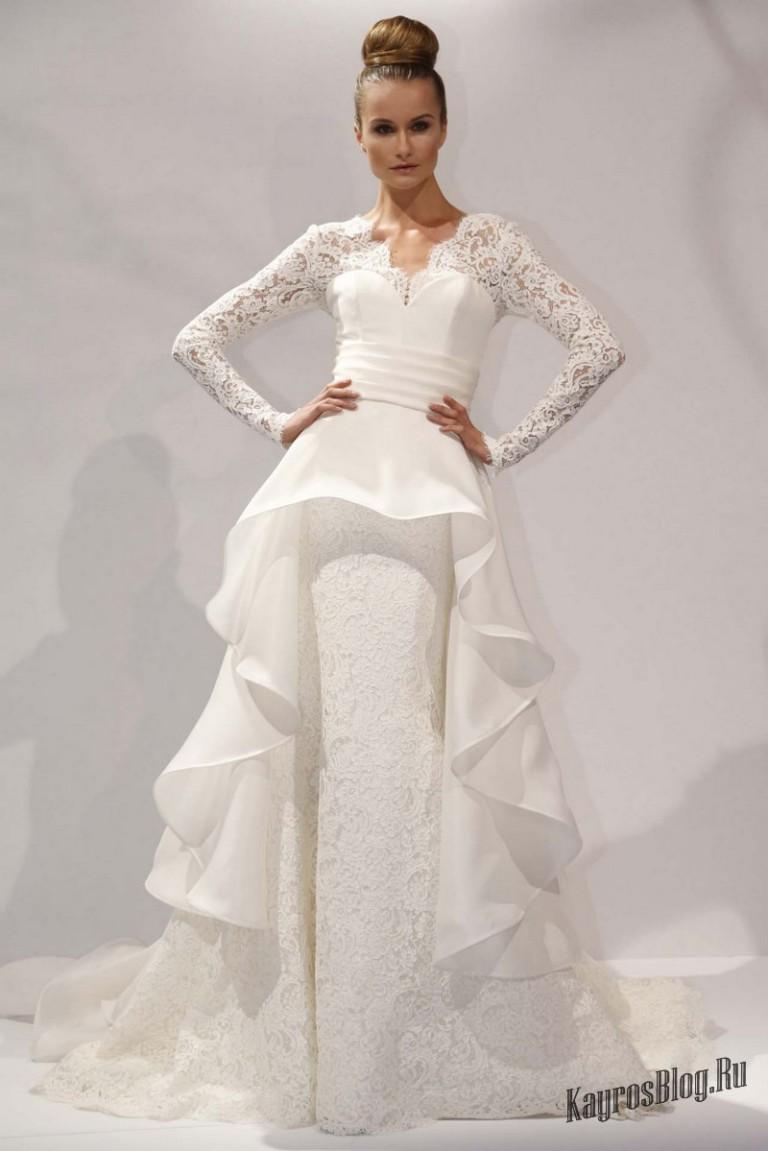 Свадебное платье с влагалищем 19 фотография