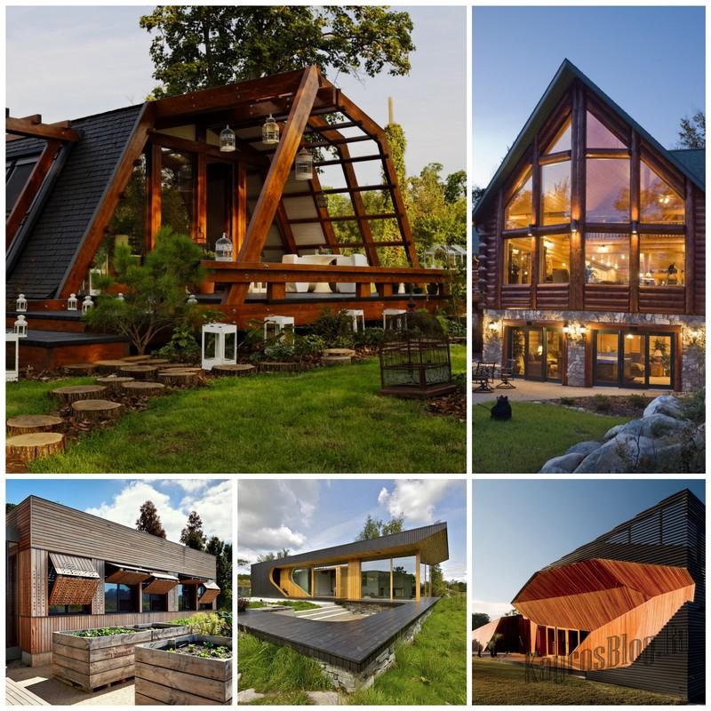 Строим жилье из оцилиндрованных бревен: советы начинающим строителям