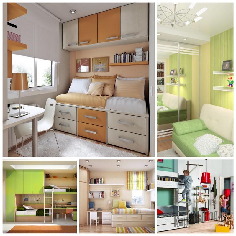 Как выбрать детскую мебель для маленькой комнаты?