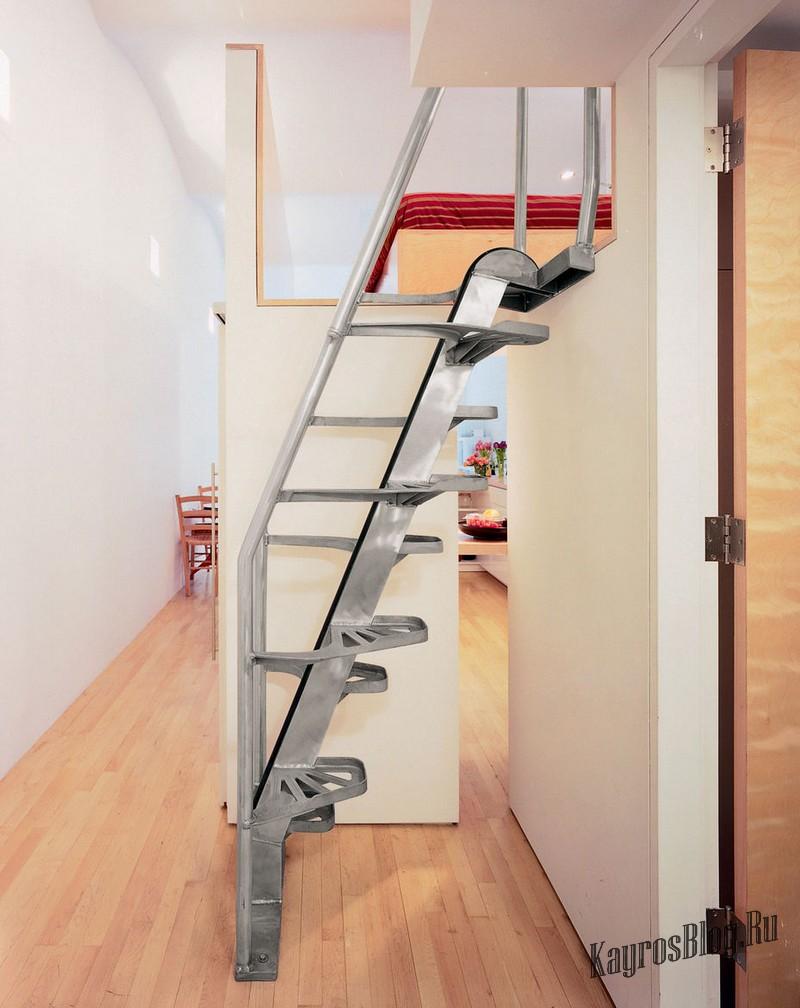 Складные лестницы на второй этаж в частном доме