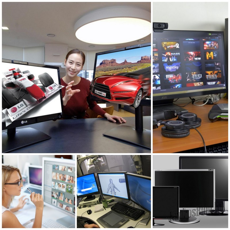 Как выбрать монитор для работы?