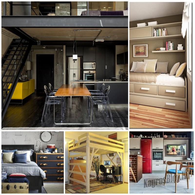 Обустройство маленькой квартиры: используем свободное место рационально!