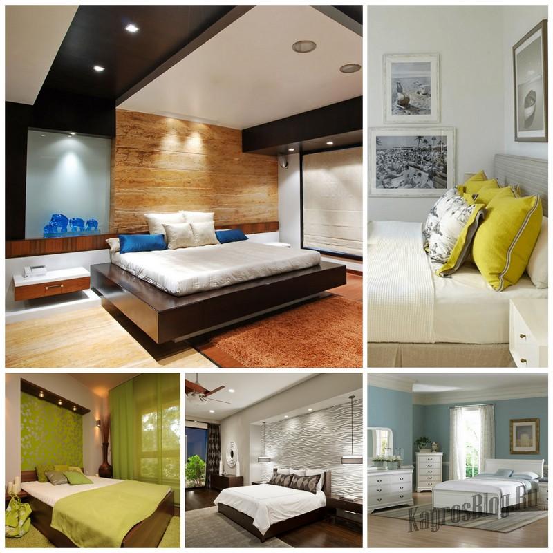 Основные правила дизайна спальни