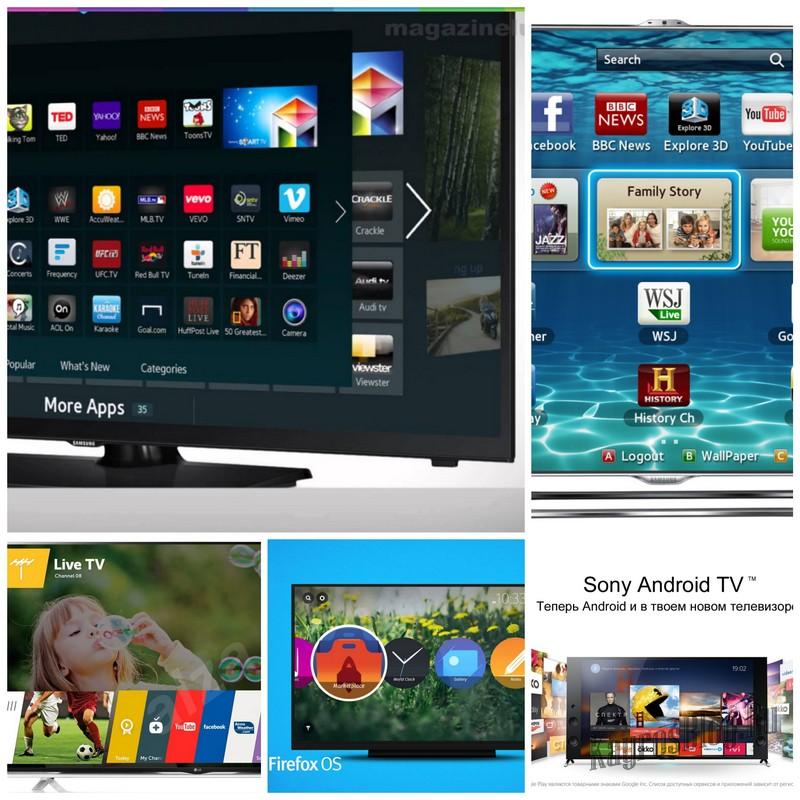 Особенности Smart TV в 2015 году