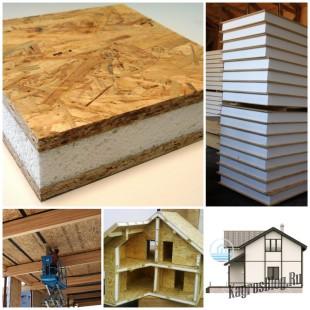 Преимущество использование сип панелей в строительстве загородного дома