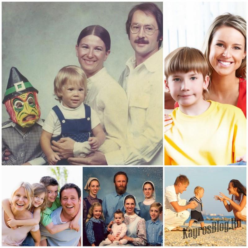 Семейные фотографии - страницы памяти