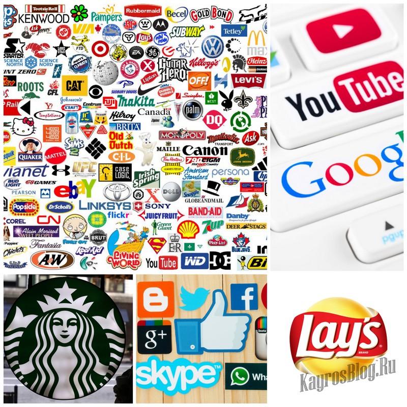 Создание дизайна логотипов
