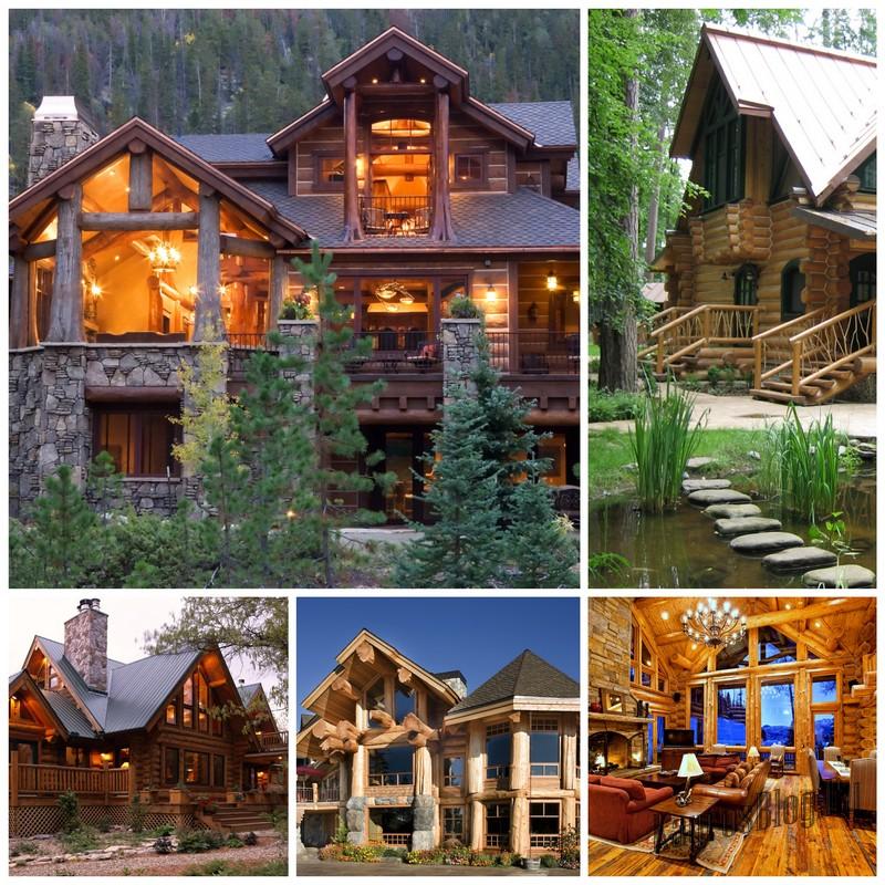 Уникальные и роскошные срубовые дома для ценителей природных качеств древесины