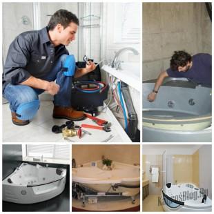 Устройство и ремонт джакузи
