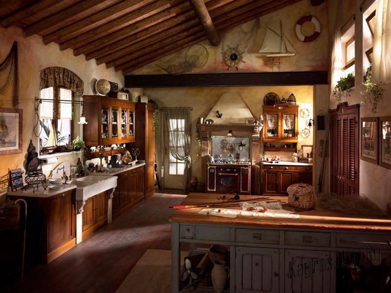 Кухня в стиле кантри - романтизм в вашем доме