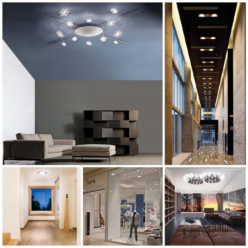 Итальянские настенно-потолочные светильники качество и надежность