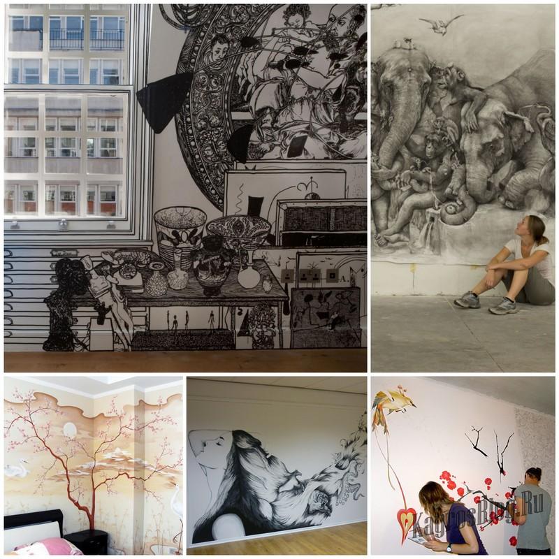 Как рисовать на стенах - простое руководство для всех
