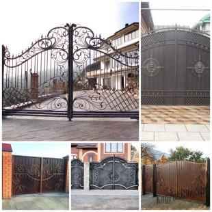 Кованые ворота на страже вашего покоя