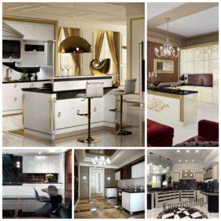 Кухня в стиле Арт-Деко - скромный эпотаж в ваше доме