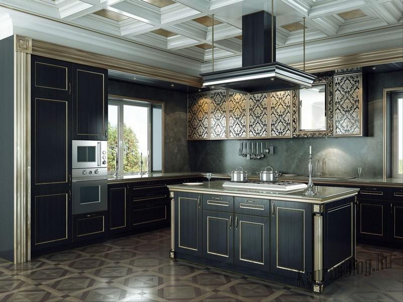Дизайн кухни арка фото