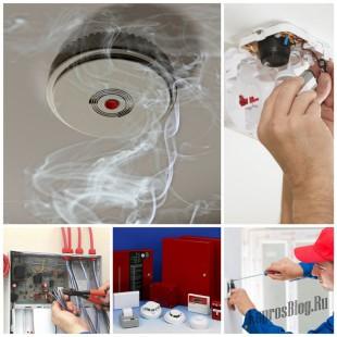 Монтаж пожарной сигнализации - залог вашей безопасности