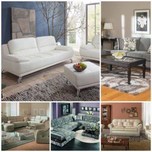 Мягкая мебель для гостиной - правила покупателя