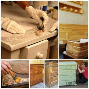 Реставрация мебели из фанеры своими руками