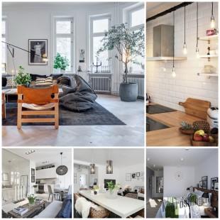 Скандинавские мотивы в дизайне квартир - модный тренд