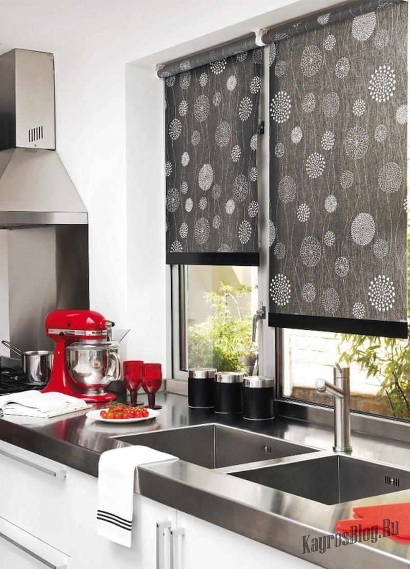 Тканевые жалюзи для кухни