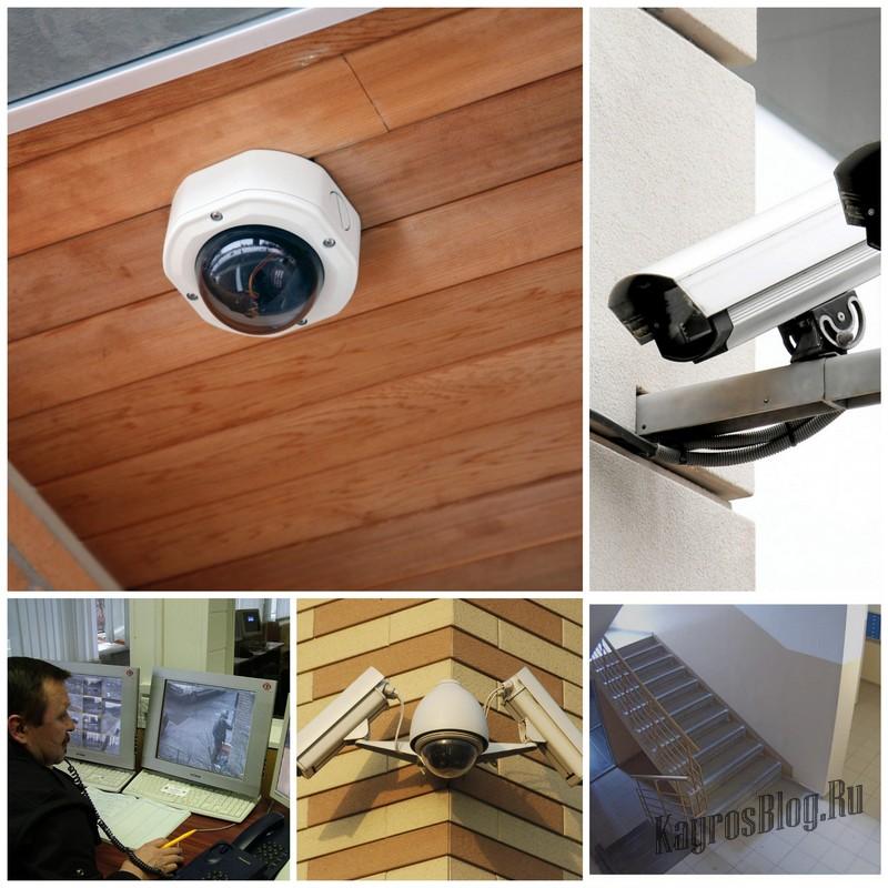 Установка цифровой системы видеонаблюдения в подъезде