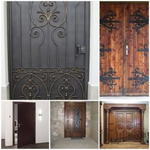 Все плюсы и минусы металлических и деревянных дверей