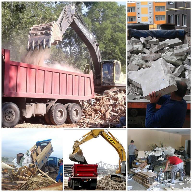 Вывоз мусора - показатель качества любого строительства
