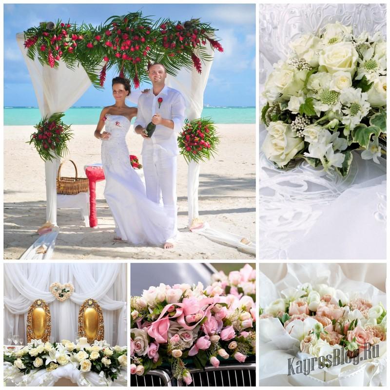 3 правила выбора свадебных цветов